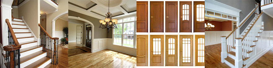 interior doors and millwork